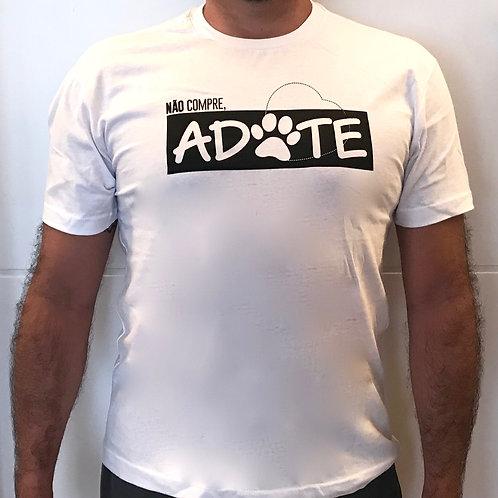 Camiseta Branca - ADOTE