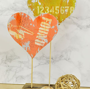 Bubbalux Hearts by Pete Hughes for Sizzix