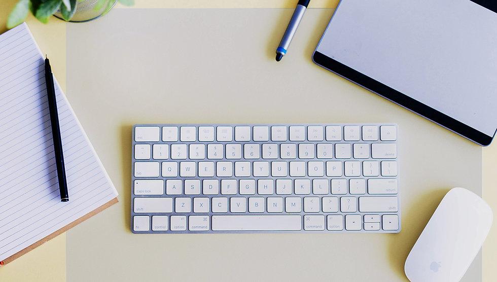 Desktex mat on desk