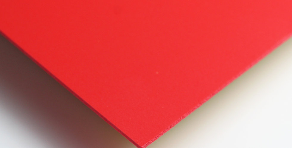 Bubbalux Craft Board | Red | Large