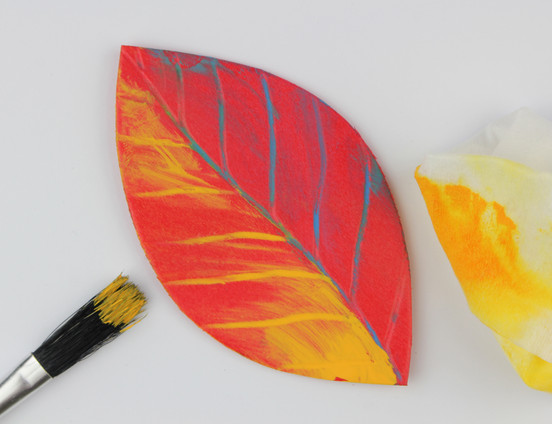 Making leaves with Bubbalux
