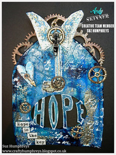 Hope Is The Key by Suz Humphreys