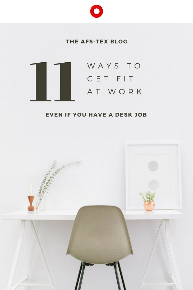 11 ways to get fit and lose weight at work
