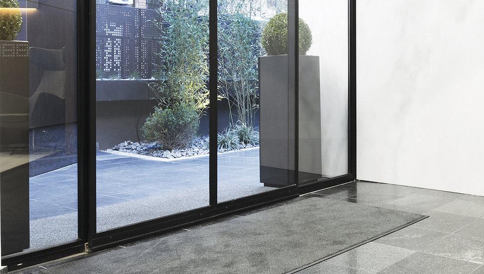 Advantagemat indoor entrance mat in office doorway