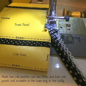Yellow Caddy 16 - Side Pockets.jpg
