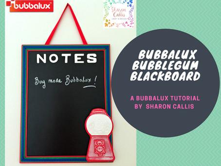 Bubbalux Bubblegum Blackboard