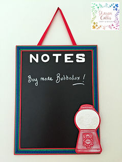 Bubbalux Bubblegum Blackboard Tutoria