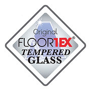 Floortex Tempered Glass Logo