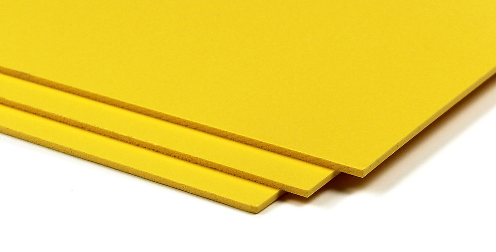 Bubbalux Craft Board | Yellow | Small