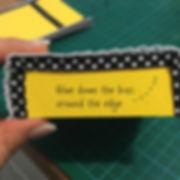 Yellow Caddy 20 - Side pockets glued tri