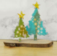 Bubbalux Christmas Trees by Pete Hughes for Sizzix
