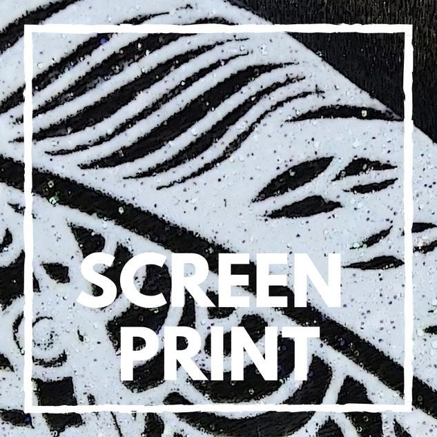 Screen Printed Bubbalux