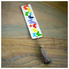 Painted Bubbalus Book Mark by Beebaab Crafts
