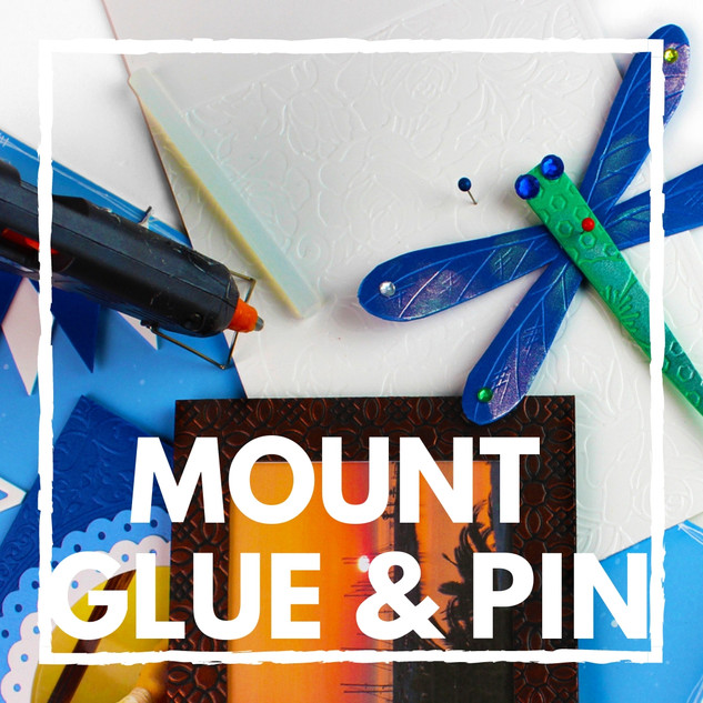 Mount Glue and Pin Bubbalux