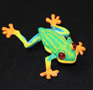 Bubbalux Frog Detail