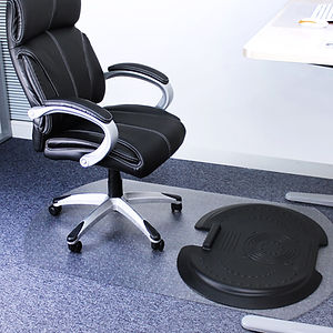 AFS-TEX 5000 S2S Anti Fatigue Mat and Chair Mat for Carpet