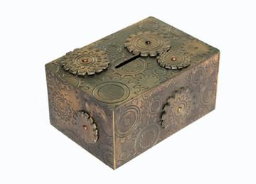 Bubbalux Steampunk Moneybox