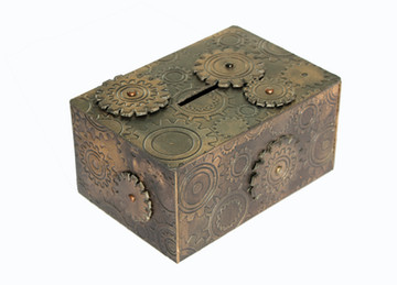Bubbalux Steampunk Moneybox