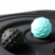 Close Up View Of AFS-TEX Active Platform Massage Roller Balls