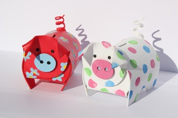 Cute piggybanks