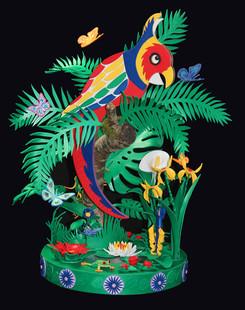 Bubbalux Parrot