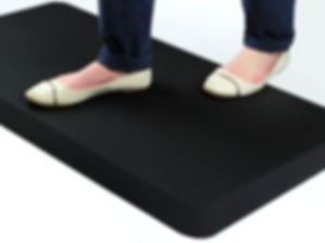 Standing on an AFS-TEX 3000 Mat