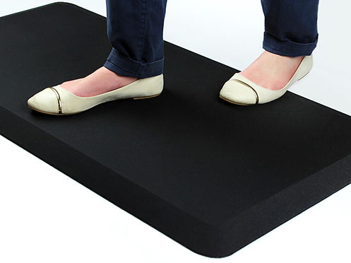 Standing on a AFS-TEX 3000 Anti Fatigue Mat