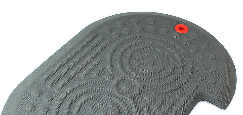 Detail of the Grey AFS-TEX 2000X Anti Fatigue Mat