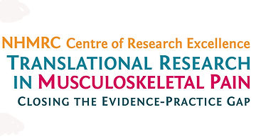 NHMRC CRE musculoskeletal research