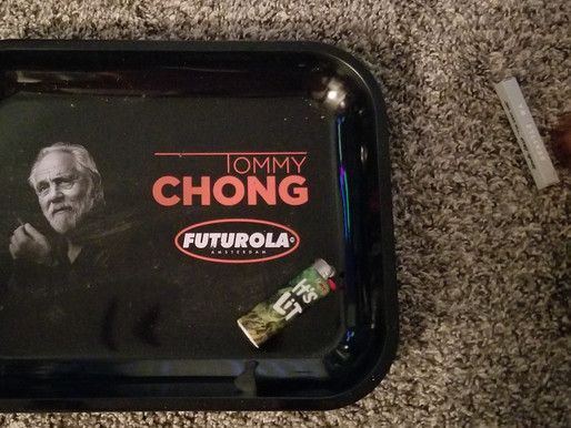 My Tommy Chong Rolling Tray & Accessories for $20