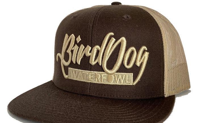 Wool Blend Brown/Khaki Trucker