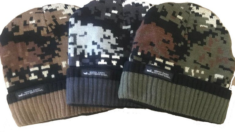 Sherpa Fleece Fur Lined Beanie