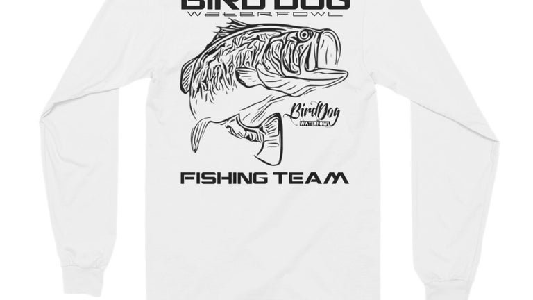 Official Fishing Team Long Sleeve