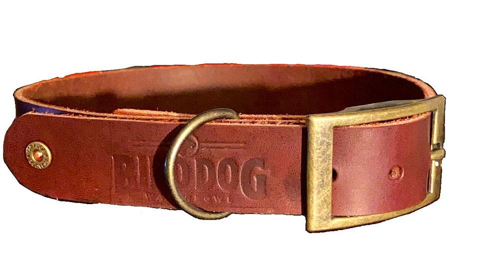 USA Handmade Leather Collar