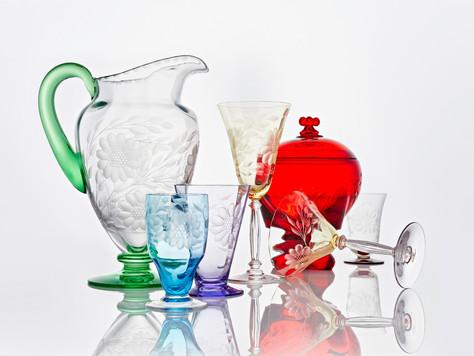 W. J. Hughes Corn Flower Glass: A Canadian Design Story