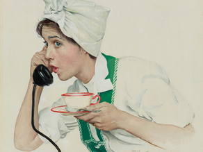 Norman Rockwell's 'Cana-tea-an' Campaign