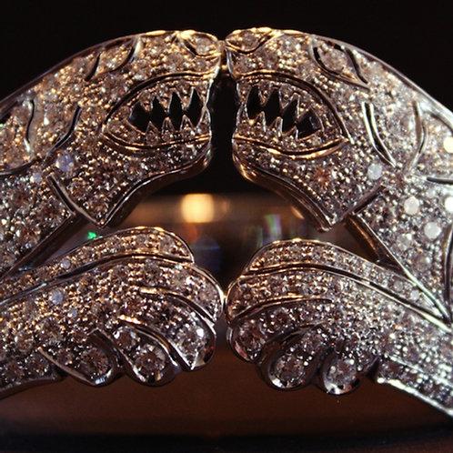"Art Deco ""Tigers"" Bracelet"