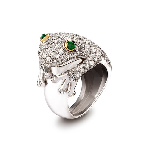"""""""Frog"""" Ring"""