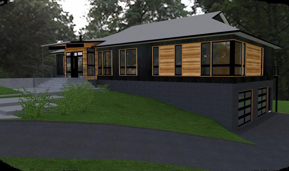 Northwest corner - Proposed