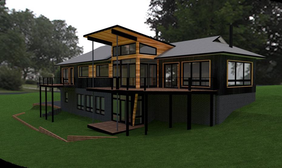 Southeast corner - Proposed