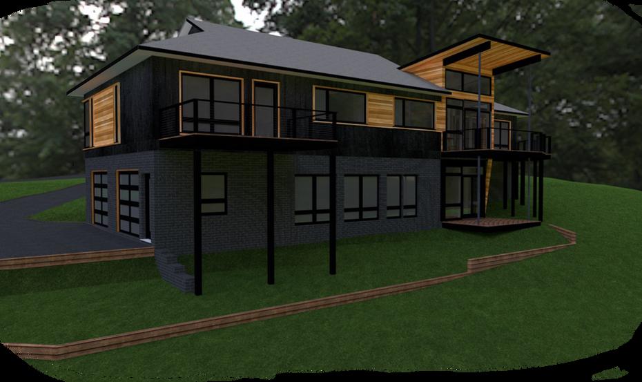 Southwest corner - Proposed