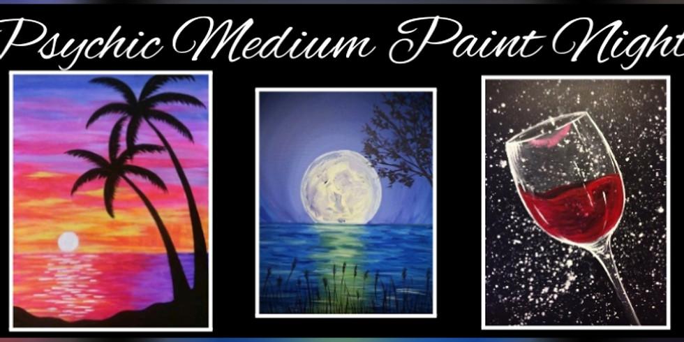 Psychic Medium Paint Night by Sip N Dip