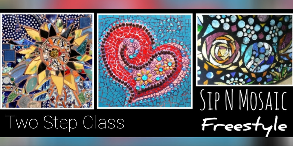 Freestyle Mosaic Two Step Class