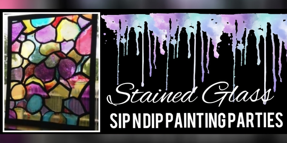 """""""Stained Glass"""" Sip N Dip"""
