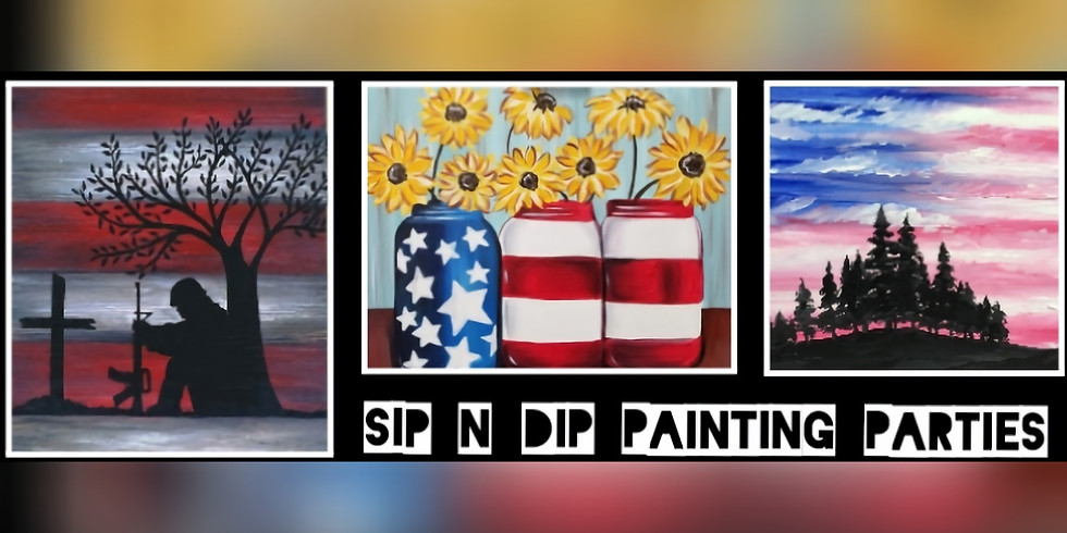 """""""Salute to Our Troops"""" Sip N Dip Trio at Iron Horse Tavern(Morgantown)"""