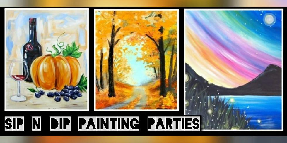 Sip N Dip Paint Night Trivia @ Atria's