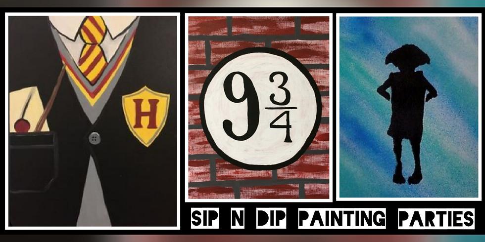 Harry Potter Sip N Dip® The Ultimate Paint Night (Morgantown, WV)