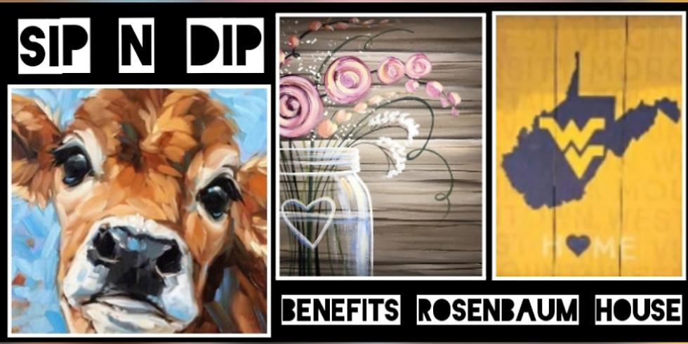 Sip N Dip Fundraiser for The Rosenbaum House