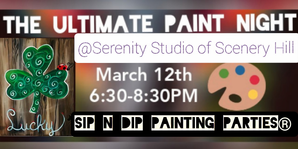 Sip N Dip® The Ultimate Paint Night (Scenery Hill, PA)