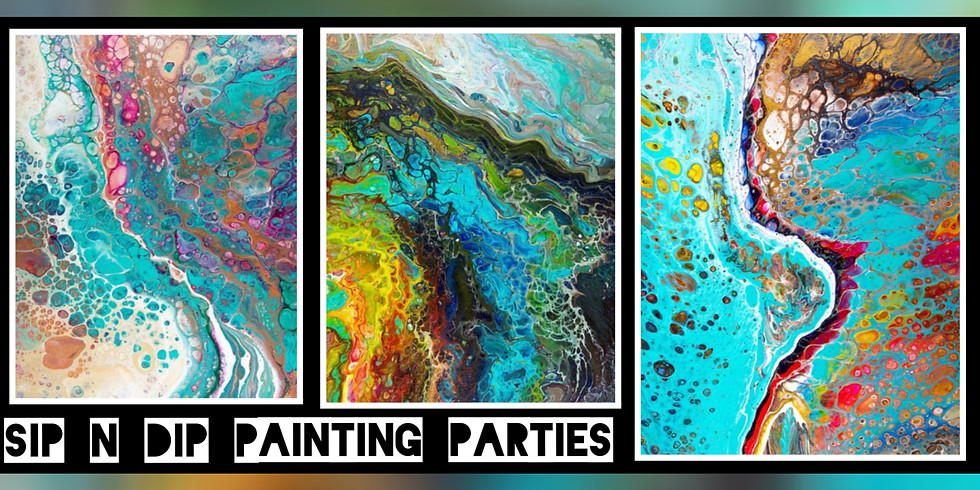 Dirty Pour Acrylics at Buffalo Wild Wings (Suncrest, Morgantown WV)
